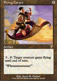 Magic the Gathering 7th Edition Single Flying Carpet - NEAR MINT (NM)