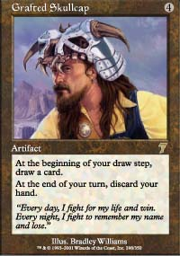 Magic the Gathering 7th Edition Single Grafted Skullcap Foil