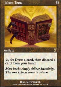 Magic the Gathering 7th Edition Single Jalum Tome - NEAR MINT (NM)