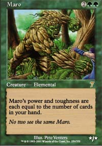 Magic the Gathering 7th Edition Single Maro UNPLAYED (NM/MT)