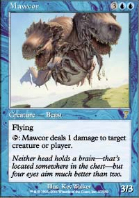 Magic the Gathering 7th Edition Single Mawcor - NEAR MINT (NM)