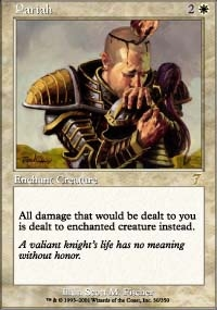 Magic the Gathering 7th Edition Single Pariah FOIL