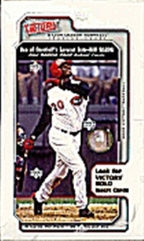 2002 Upper Deck Victory Baseball Hobby Box
