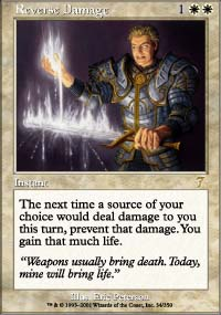 Magic the Gathering 7th Edition Single Reverse Damage - NEAR MINT (NM)