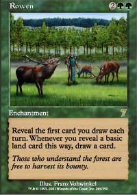 Magic the Gathering 7th Edition Single Rowen - NEAR MINT (NM)