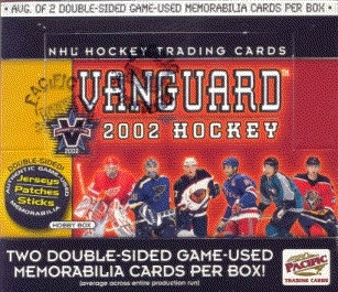 2001/02 Pacific Vanguard Hockey Hobby Box