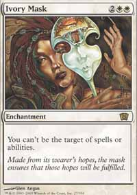 Magic the Gathering 8th Edition Singles 4x Ivory Mask UNPLAYED (NM/MT)