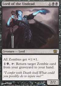 Magic the Gathering 8th Edition Single Lord of the Undead UNPLAYED (NM/MT)