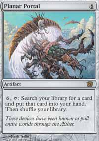 Magic the Gathering 8th Edition Single Planar Portal - NEAR MINT (NM)