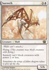 Magic the Gathering 8th Edition Single Sunweb UNPLAYED (NM/MT)