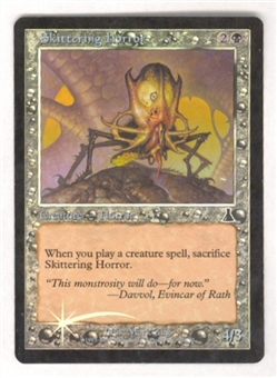 Magic the Gathering Urza's Destiny Single Skittering Horror Foil