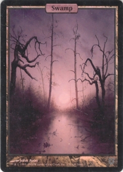 Magic the Gathering Unhinged Single Swamp Foil