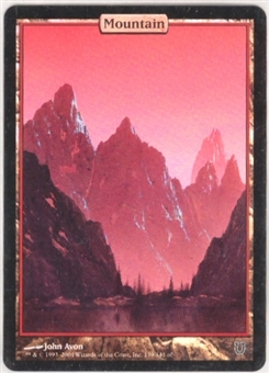 Magic the Gathering Unhinged Single Mountain Foil - SLIGHT PLAY (SP)