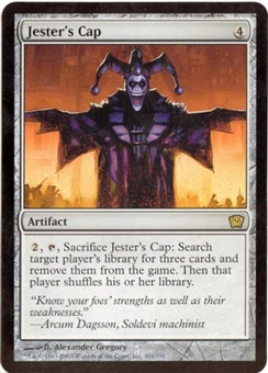 Magic the Gathering 9th Ed. 4x6 Single Jester's Cap
