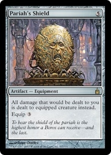 Magic the Gathering Ravnica Single Pariah's Shield Foil