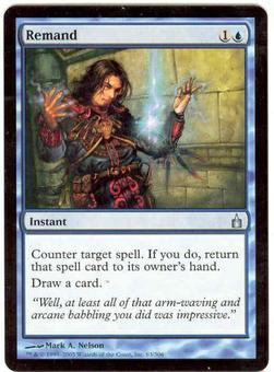 Magic the Gathering Ravnica Single Remand - NEAR MINT (NM)