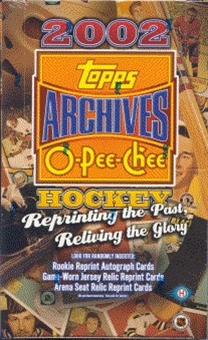 2001/02 Topps / O-Pee-Chee Archives Hockey Hobby Box