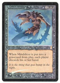 Magic the Gathering Odyssey Single Mindslicer Foil