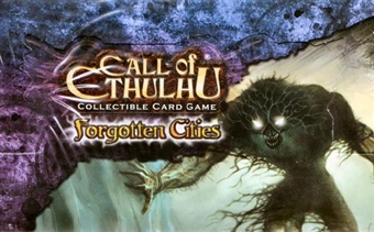 Fantasy Flight Call of Cthulhu Forgotten Cities Booster Box - RARE!!