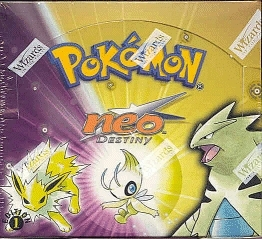 WOTC Pokemon Neo 4 Destiny 1st Edition Booster Box