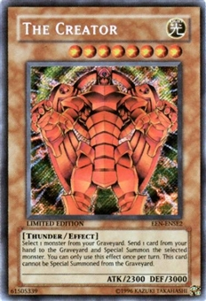 Yu-Gi-Oh Elemental Energy Single The Creator Secret Rare