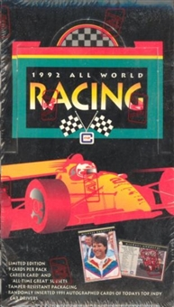 1992 All World Racing Hobby Box