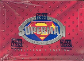 Superman: The Man of Steel Collector's Edition Hobby Box (1994 Skybox)