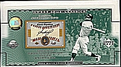 2002 Upper Deck Sweet Spot Classics Baseball Hobby Box