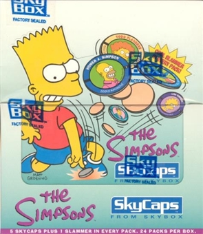 Simpsons Skycaps Hobby Box (1994 Skybox)