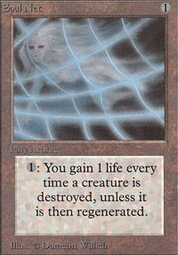 Magic the Gathering Alpha Single Soul Net UNPLAYED (NM/MT)
