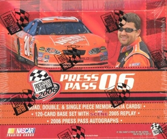 2006 Press Pass Racing Hobby Box