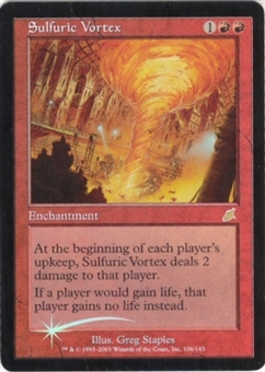 Magic the Gathering Scourge Single Sulfuric Vortex Foil - NEAR MINT (NM)