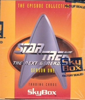 Star Trek: The Next Generation Season One Hobby Box (1994 Skybox)
