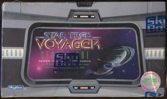 Star Trek: Voyager Season One Series 2 Hobby Box (1995 Skybox)
