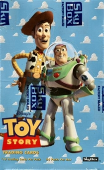 Toy Story Hobby Box (1995 Skybox)