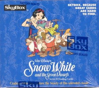 Snow White and the Seven Dwarfs Series 2 Hobby Box (1994 Skybox)