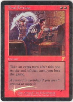 Magic the Gathering 7th Edition Single Final Fortune Foil