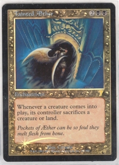 Magic the Gathering 7th Edition Single Tainted Aether FOIL