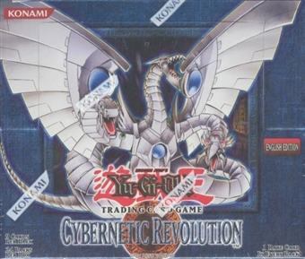 Upper Deck Yu-Gi-Oh Cybernetic Revolution Unlimited Booster Box