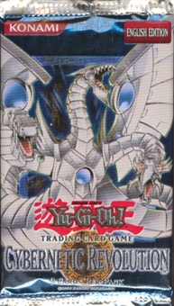 Upper Deck Yu-Gi-Oh Cybernetic Revolution Unlimited Booster Pack
