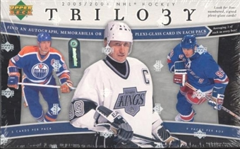 2005/06 Upper Deck Trilogy Hockey Hobby Box