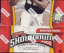 WOTC NFL Showdown 2002 Football 1st Edition Booster Box