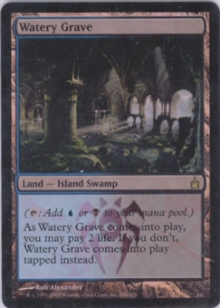 Magic the Gathering Ravnica Single Watery Grave Foil