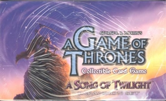 Fantasy Flight Games A Game of Thrones A Song of Twilight Booster Box