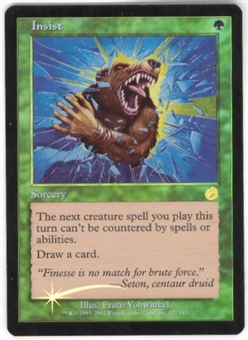 Magic the Gathering Torment Single Insist Foil
