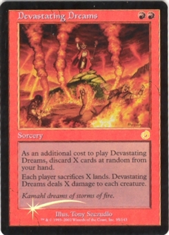 Magic the Gathering Torment Single Devastating Dreams Foil