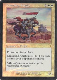 Magic the Gathering Invasion Single Crusading Knight Foil