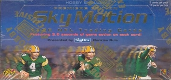 1996 Skybox Skymotion Football Hobby Box