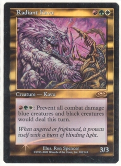 Magic the Gathering Planeshift Single Radiant Kavu - NEAR MINT (NM)