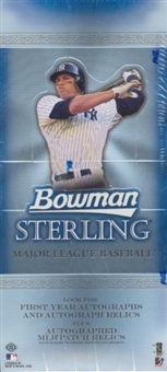 2005 Bowman Sterling Baseball Hobby Box